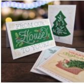 OESD Holly Jolly Greeting Cards-USB