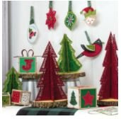 OESD Holly Jolly Ornaments & Accents USB
