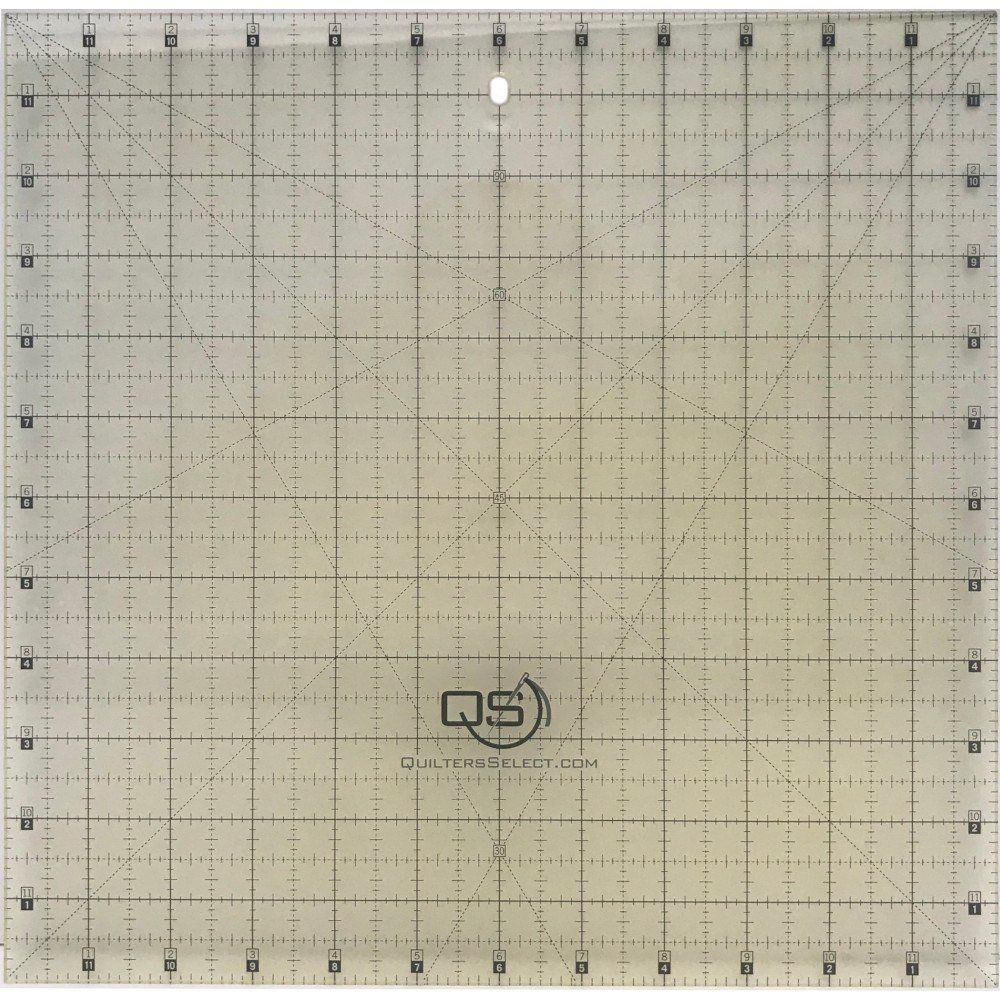 12 x 12 Non-Slip Deluxe Quilting Ruler