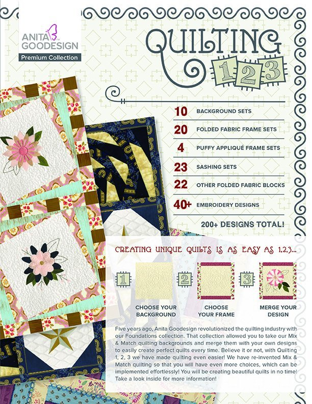 AGD Quilting 123 Premium Collection