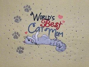 Cat Mom BLING