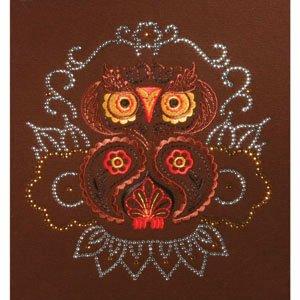 Paisley Owl BLING