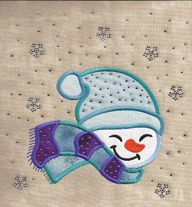 Playful Snowman BLING
