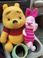 Winnie the Pooh & Piglet Custom Order