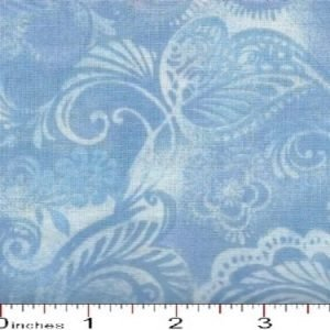All Varieties of 108 Wide Floral Illusions Backing Fabric