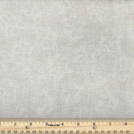 All Varieties of White on Tea Stain 108 Wide Backing Fabric