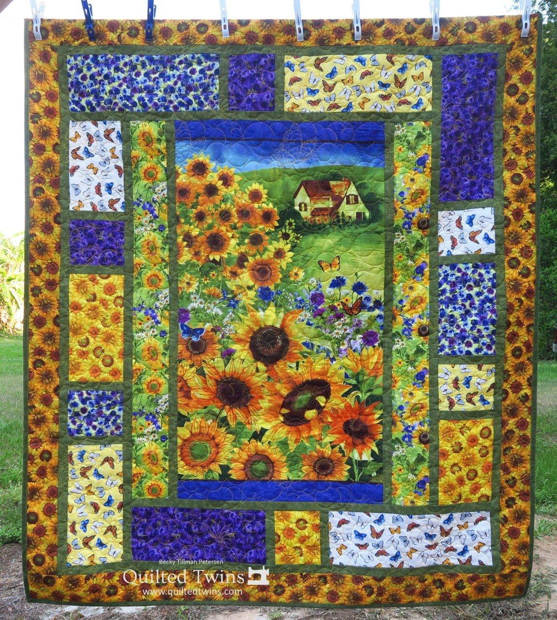 Digital Pattern: Sunny Fields digital Pattern by Becky Tillman Petersen