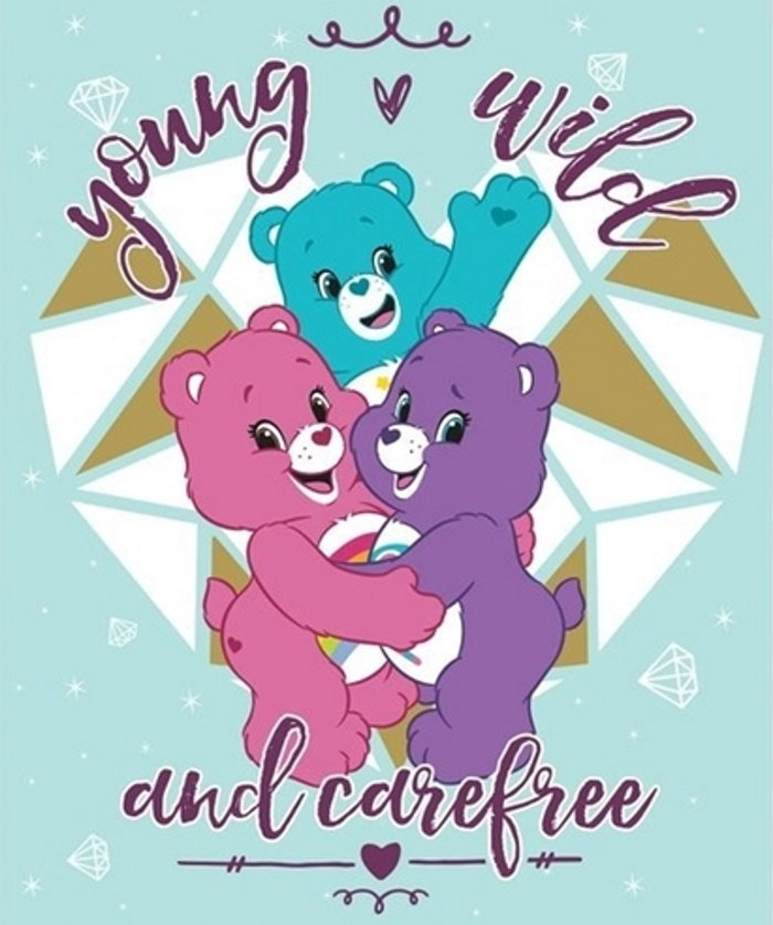 Care Bears Young 'n Wild Quilt Panel by Camelot Fabrics