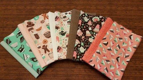 Gingerbread Bakery by Paula McGloin for Camelot Fabrics - 10 Piece Half Yard Bundle Pack