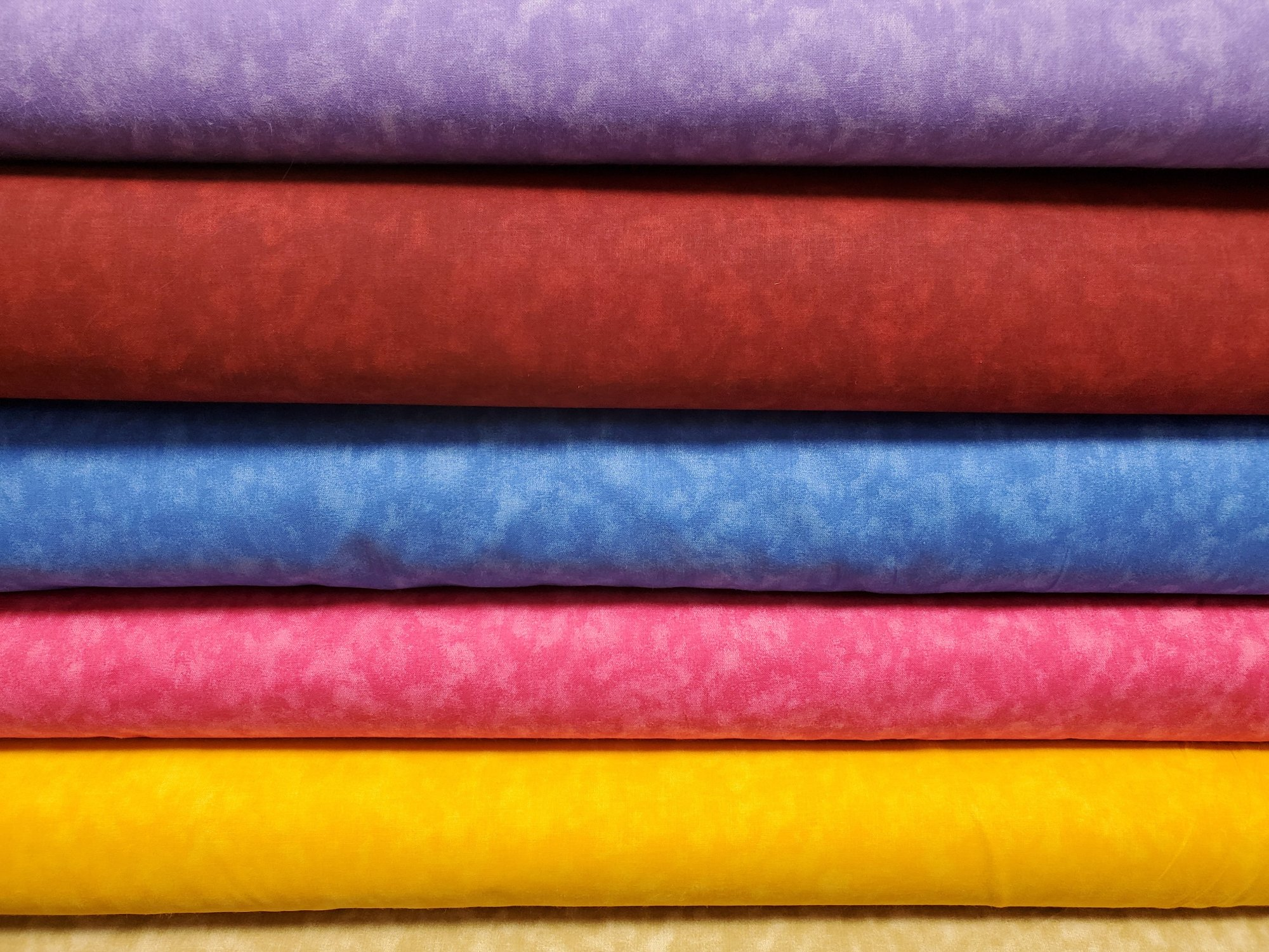 All Varieties of Basic Blender 108 Wide Backing Fabric