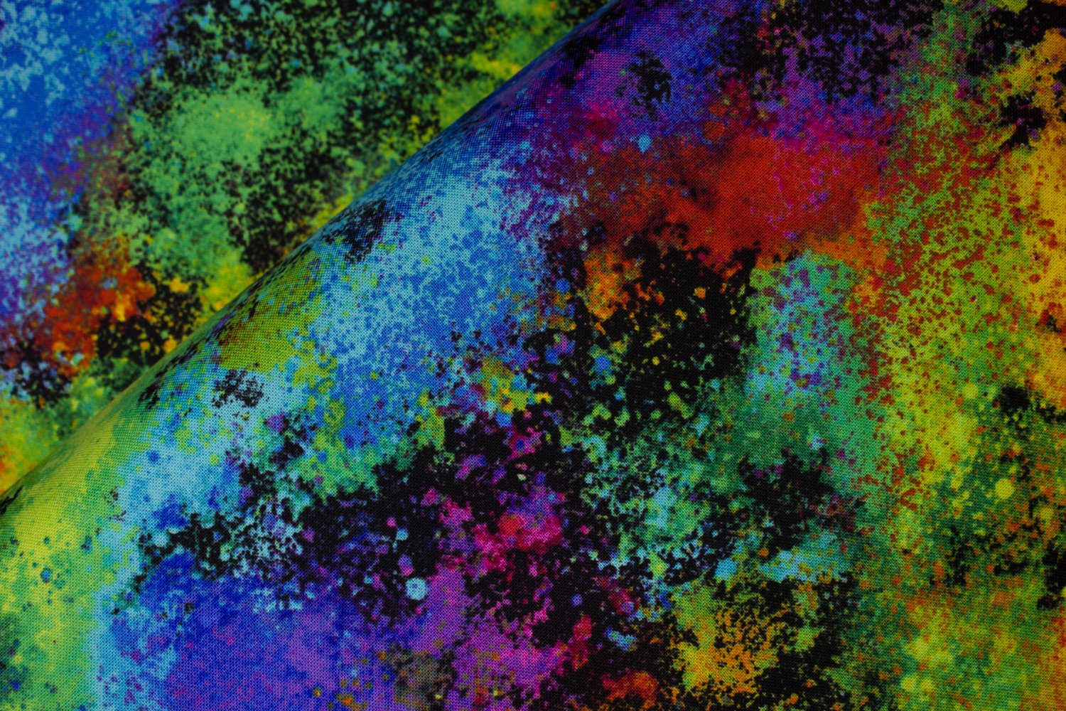 SPECIALTY FABRICS ROOM: Rainbow Airbrush Graffiti by Hi-Fashion Fabrics