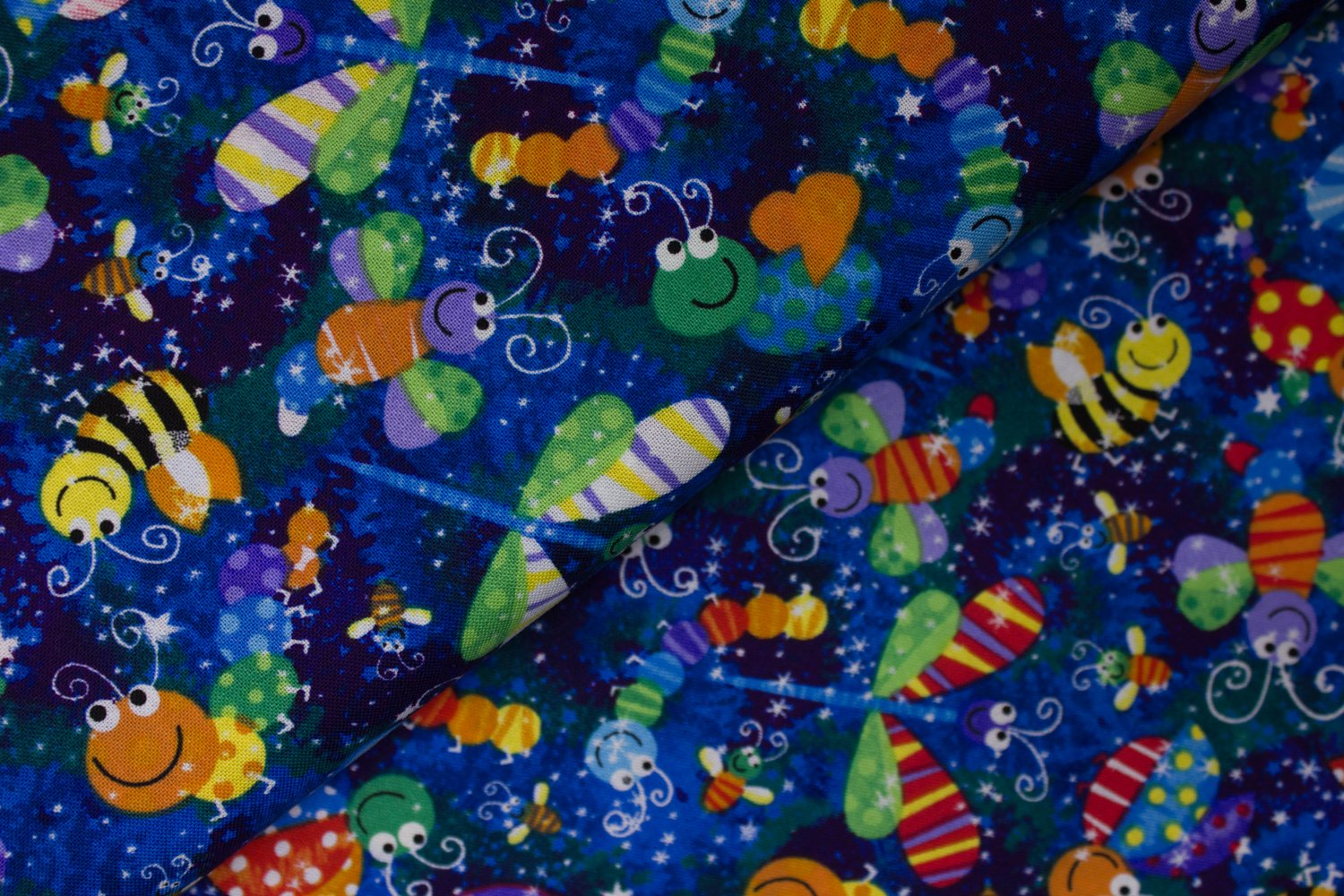 Patterned Insects by Hi-Fashion Fabrics