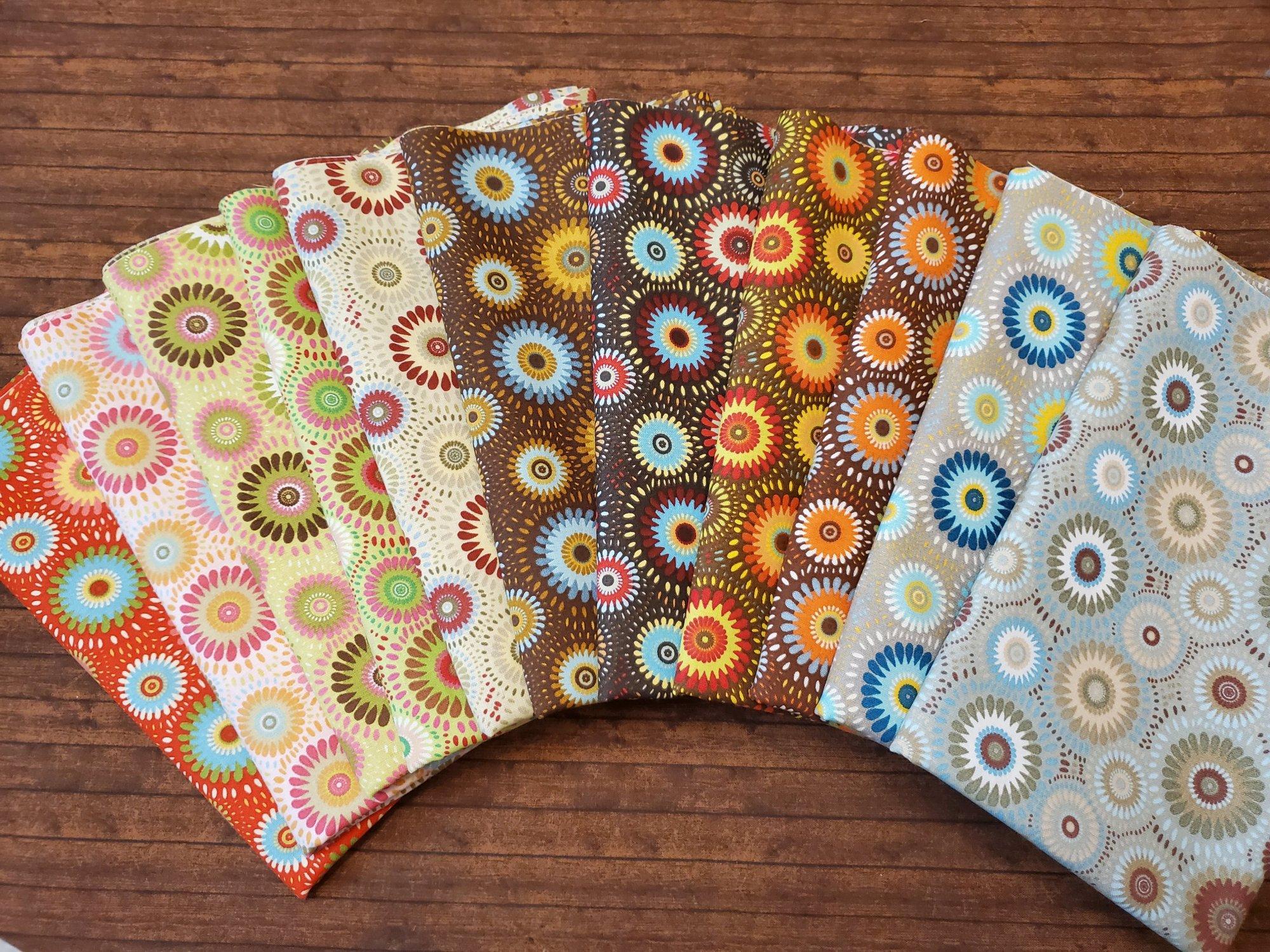 Colors Exploding - Rachael's Picks - 11 Piece Half Yard Bundle
