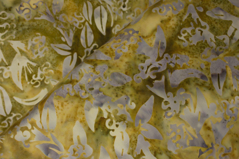 Art Inspired: Beech Trees in Gold - Batik:  Anthology Batiks