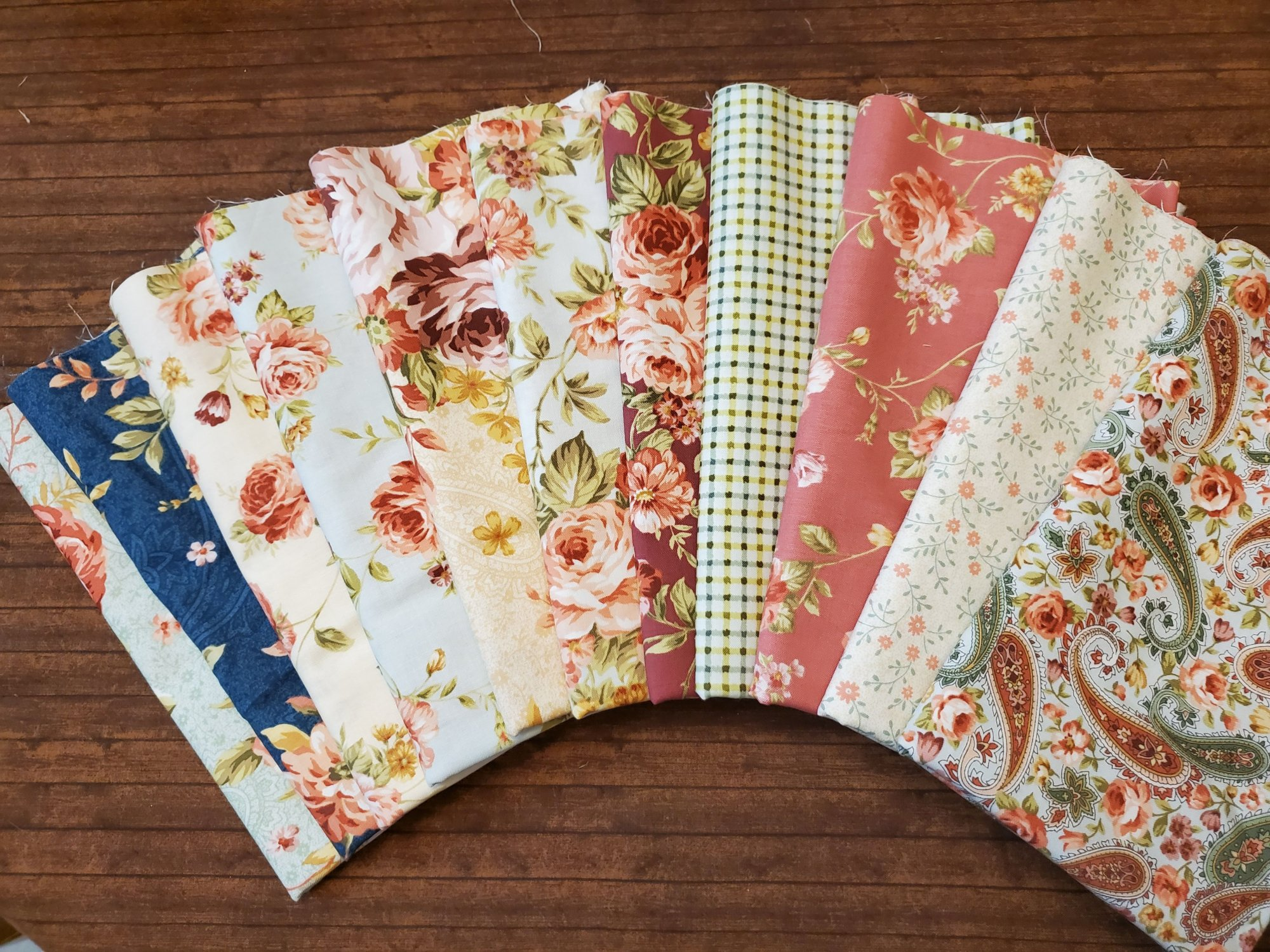 Zelie Ann by Eleanor Burns for Benartex- 11 Piece Half Yard Bundle Pack