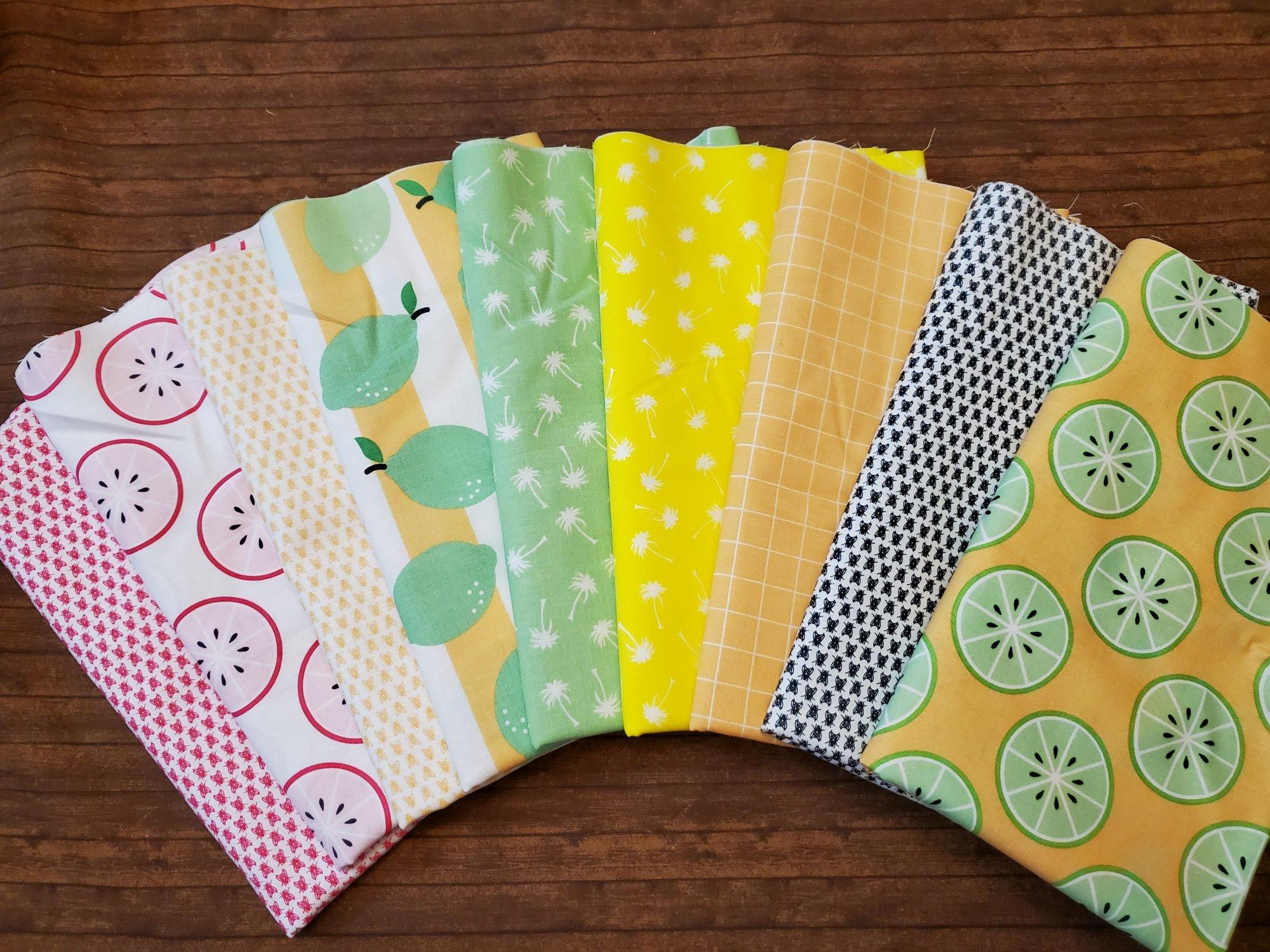 Just Add Sugar - 9 Piece Half Yard Bundle Pack by Riley Blake