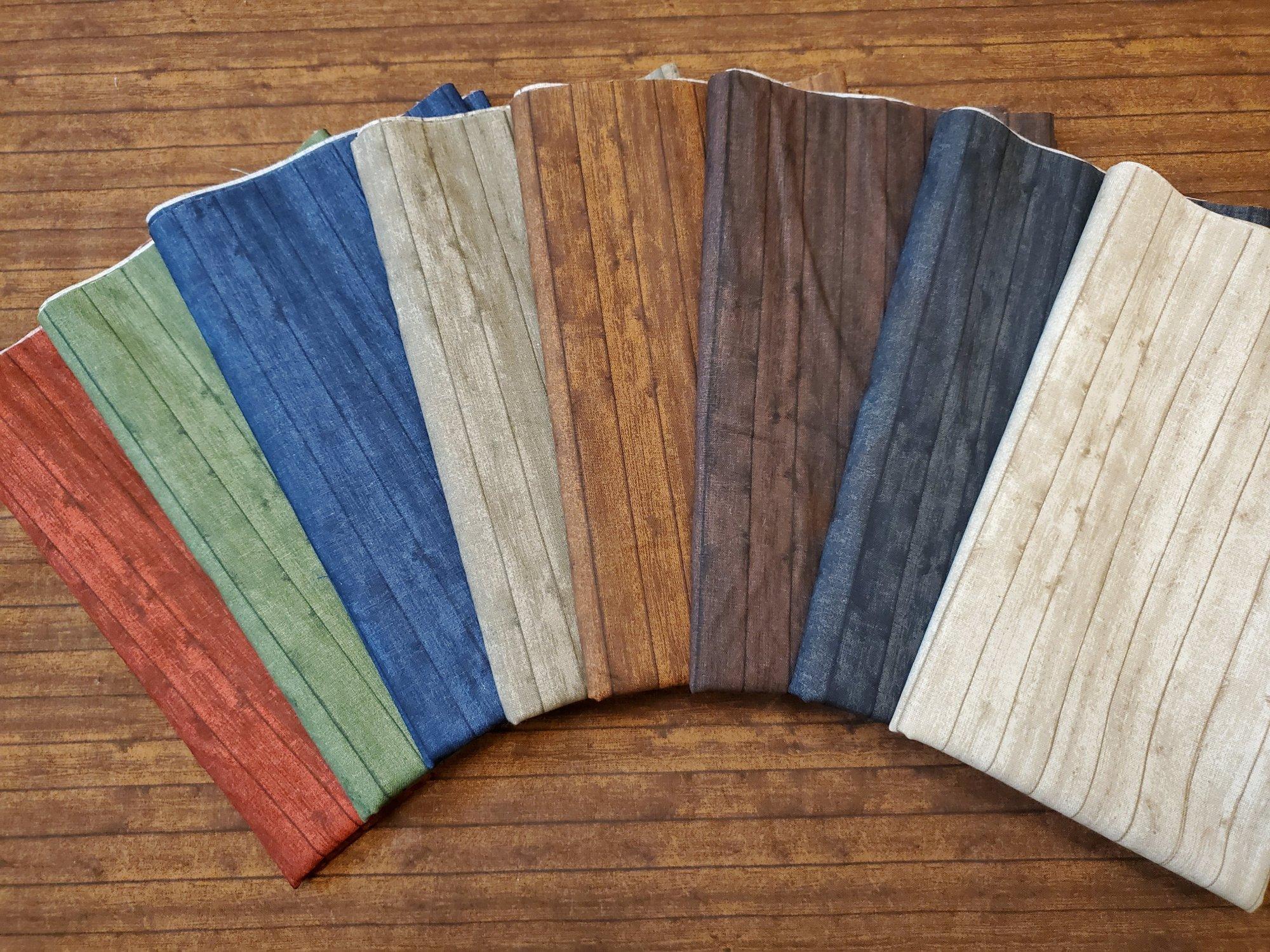 Wood Planks - Rachael's Picks - 8 Piece Half Yard Bundle Pack
