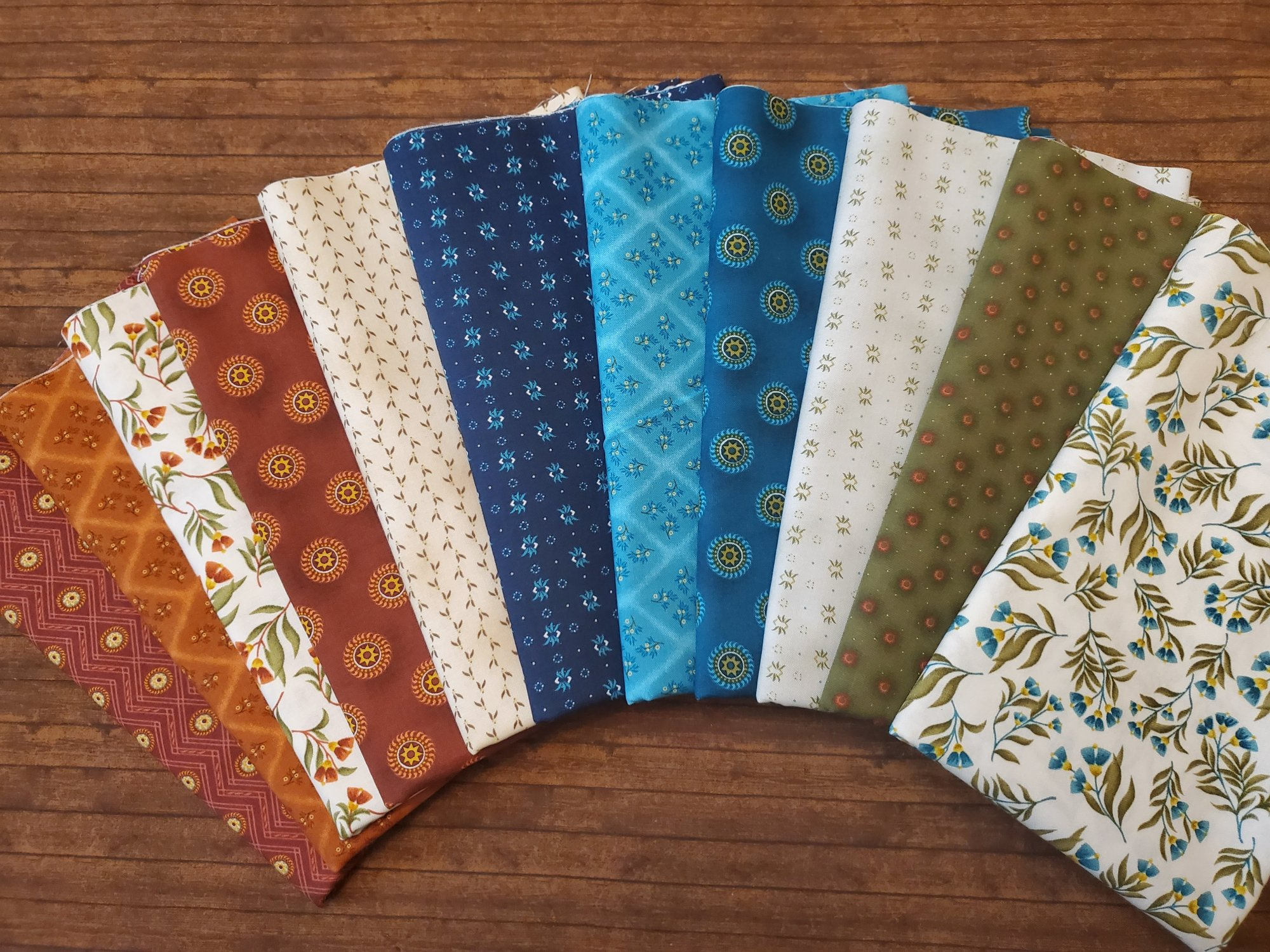 Far Horizons by David  Schulz for Henry Glass Fabrics - 11 Piece Half Yard Bundle Pack