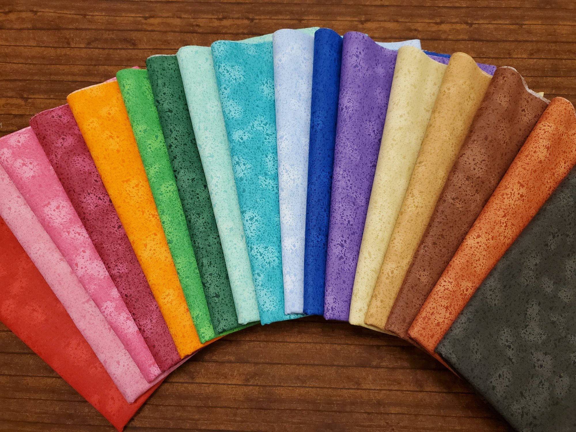 Splatter - Rachael's Picks - 17 Piece Half Yard Bundle Pack