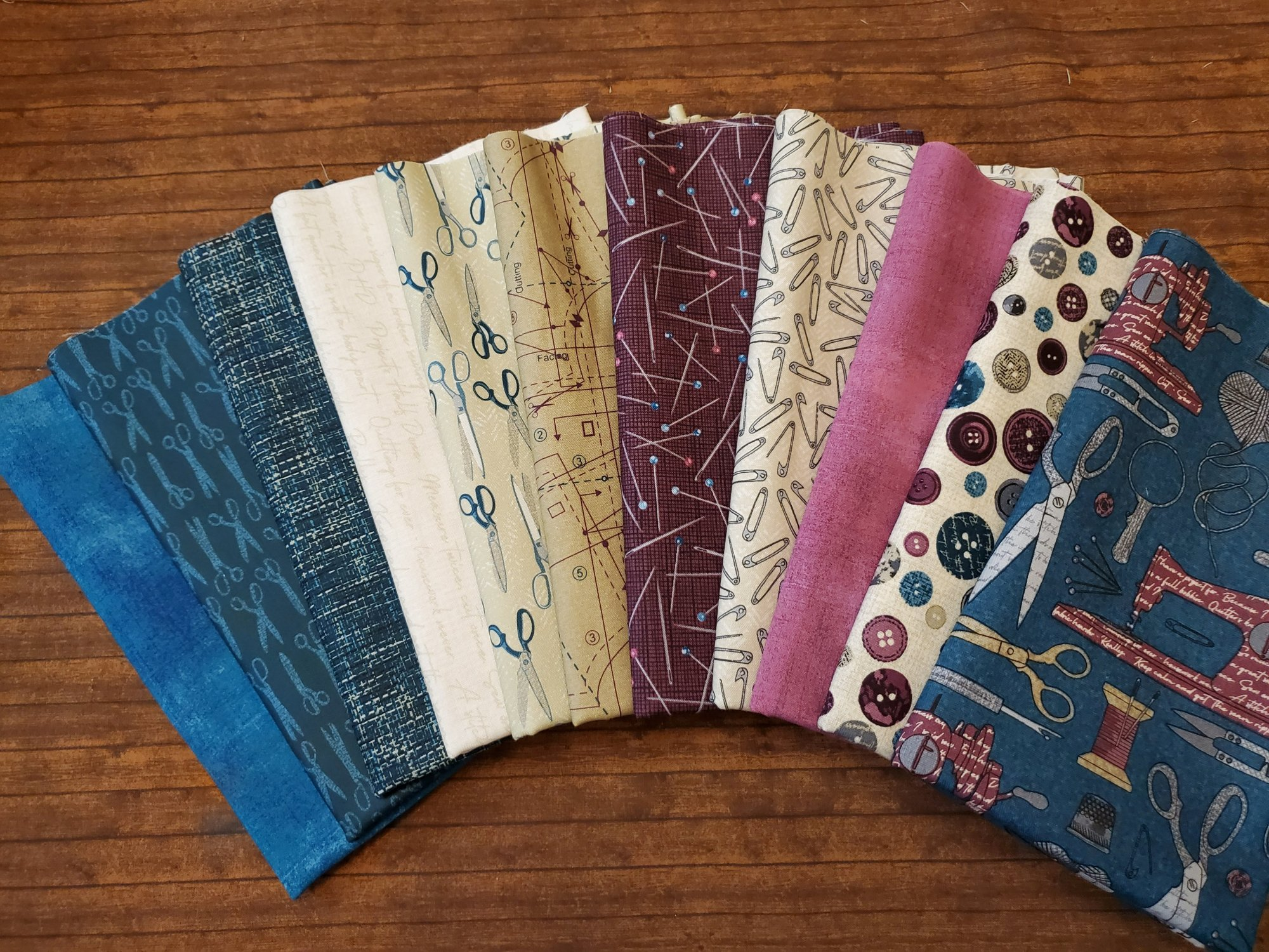 Material Girl by Nina Djuric for Northcott plus Moda Grunge, 11 piece Half Yard Bundle Pack