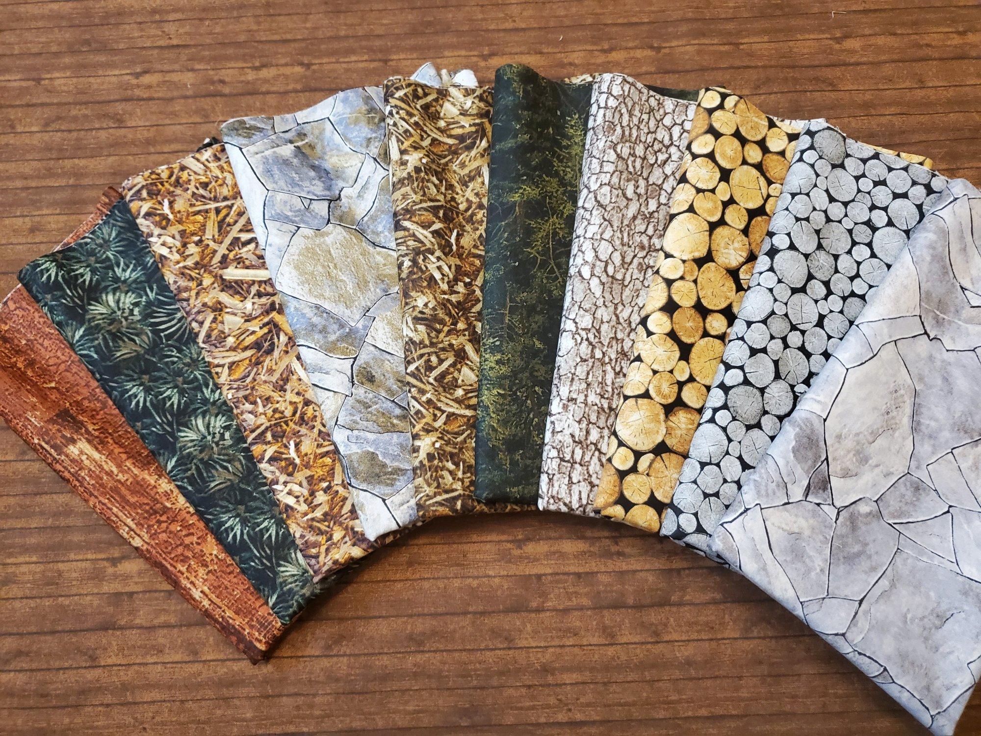Landscape Package - by Northcott - 10 Piece Half Yard Bundle Pack