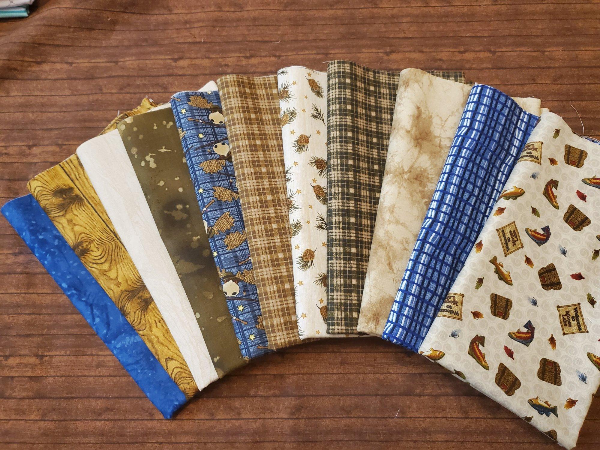 Moose Lake by Cheryl Haynes for Benartex - 11 Piece Half Yard Bundle Pack