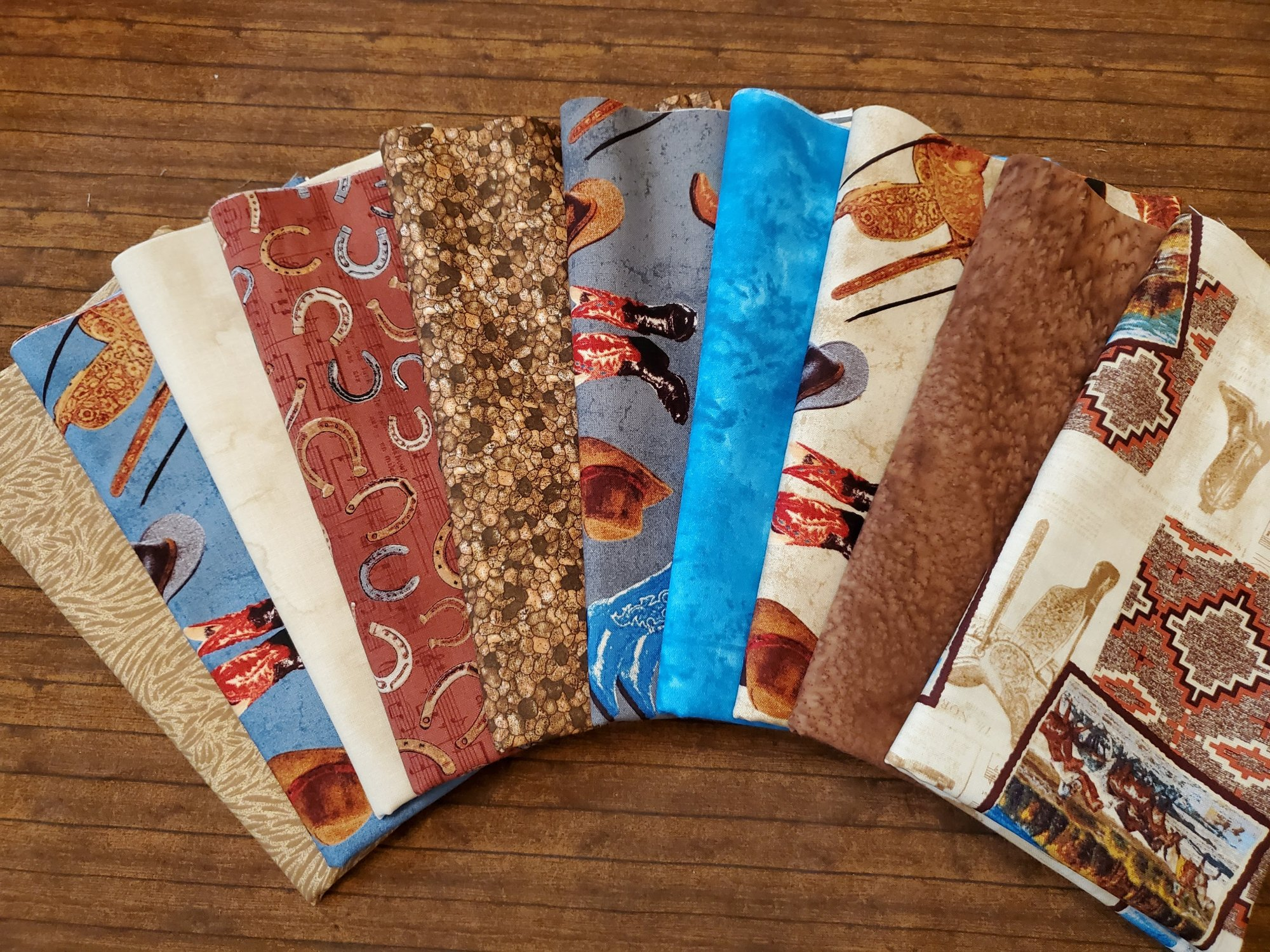 Mountain Pass - 10 Piece Half Yard Bundle Pack (VerA) by Whistler Studio for Windham Fabrics