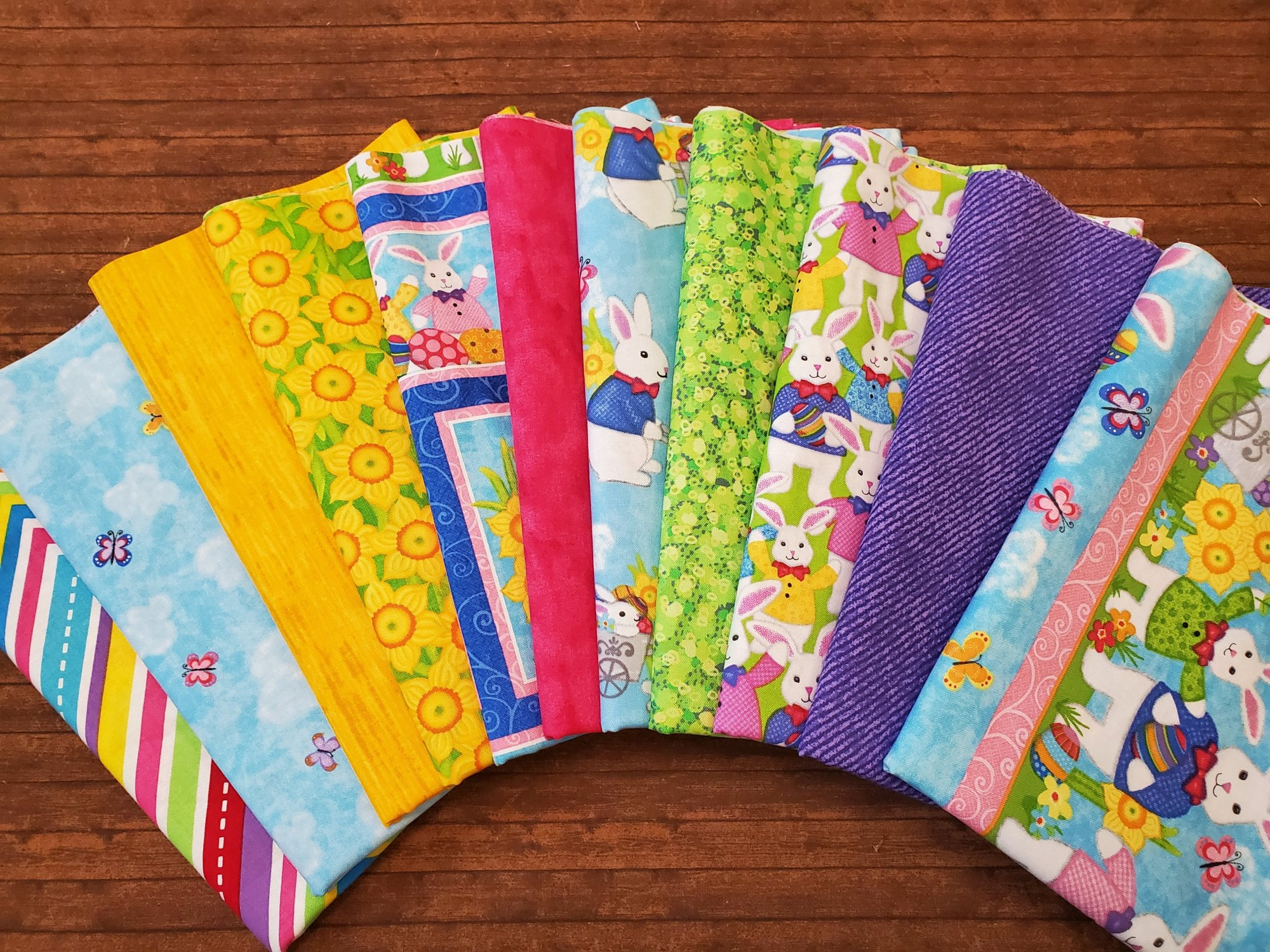 Hello Spring by Sharla Fults for Studio E - 11 Piece Half Yard Bundle Pack