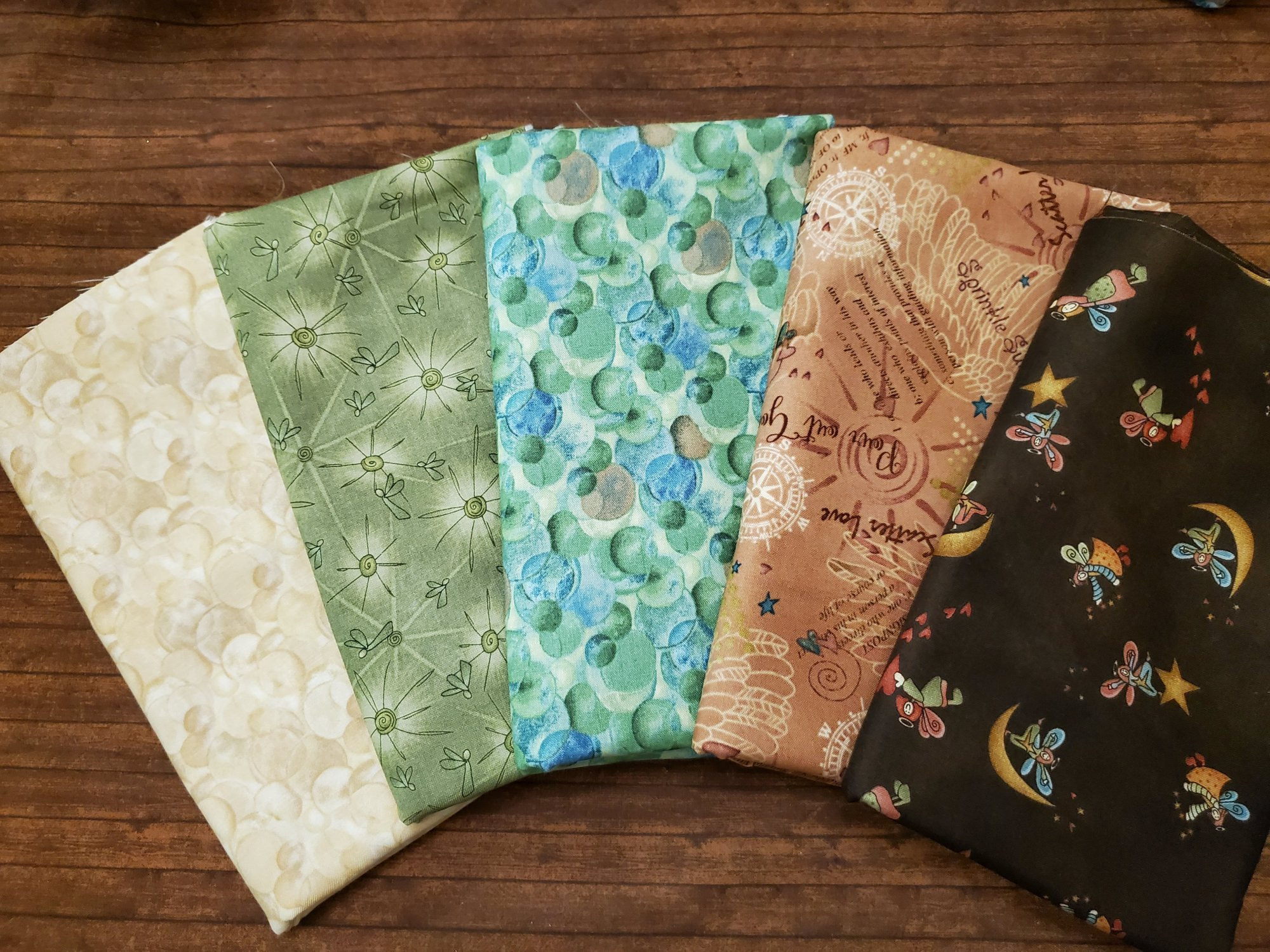 Irish Blessing by Henry Glass - 5 Piece FULL YARD Bundle Pack