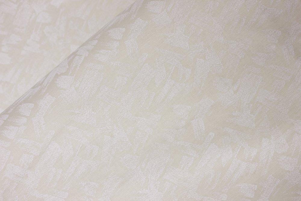 White Paintbrush Strokes on Off-White:  Paint