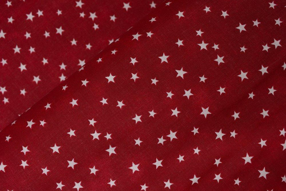 Red Mottled with White Random Stars: Patriotic