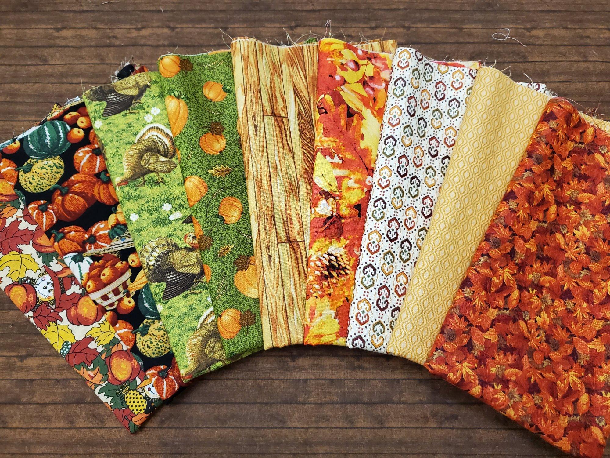 Fall #2 - 9 Piece Half Yard Bundle Pack