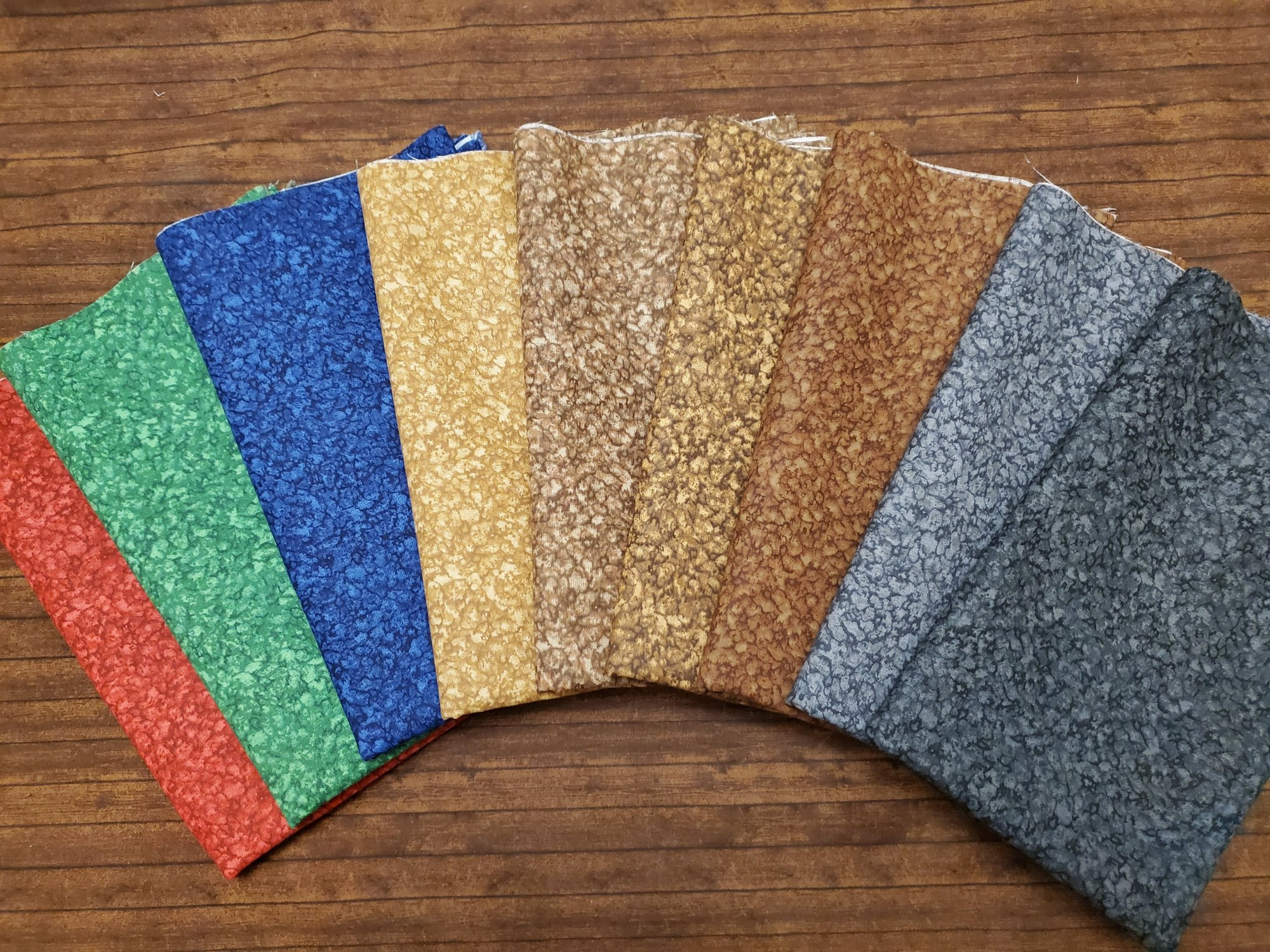 Crumble - Rachael's Picks - 9 Piece Half Yard Bundle Pack