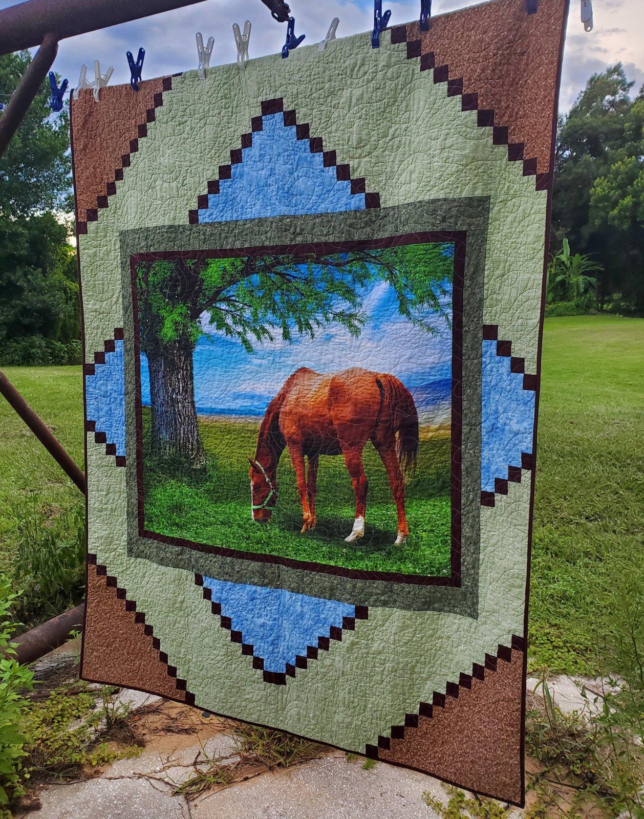 Digital Pattern Download: Quilt Pattern - Centerpiece   -  Digital Pattern by Becky Tillman Petersen