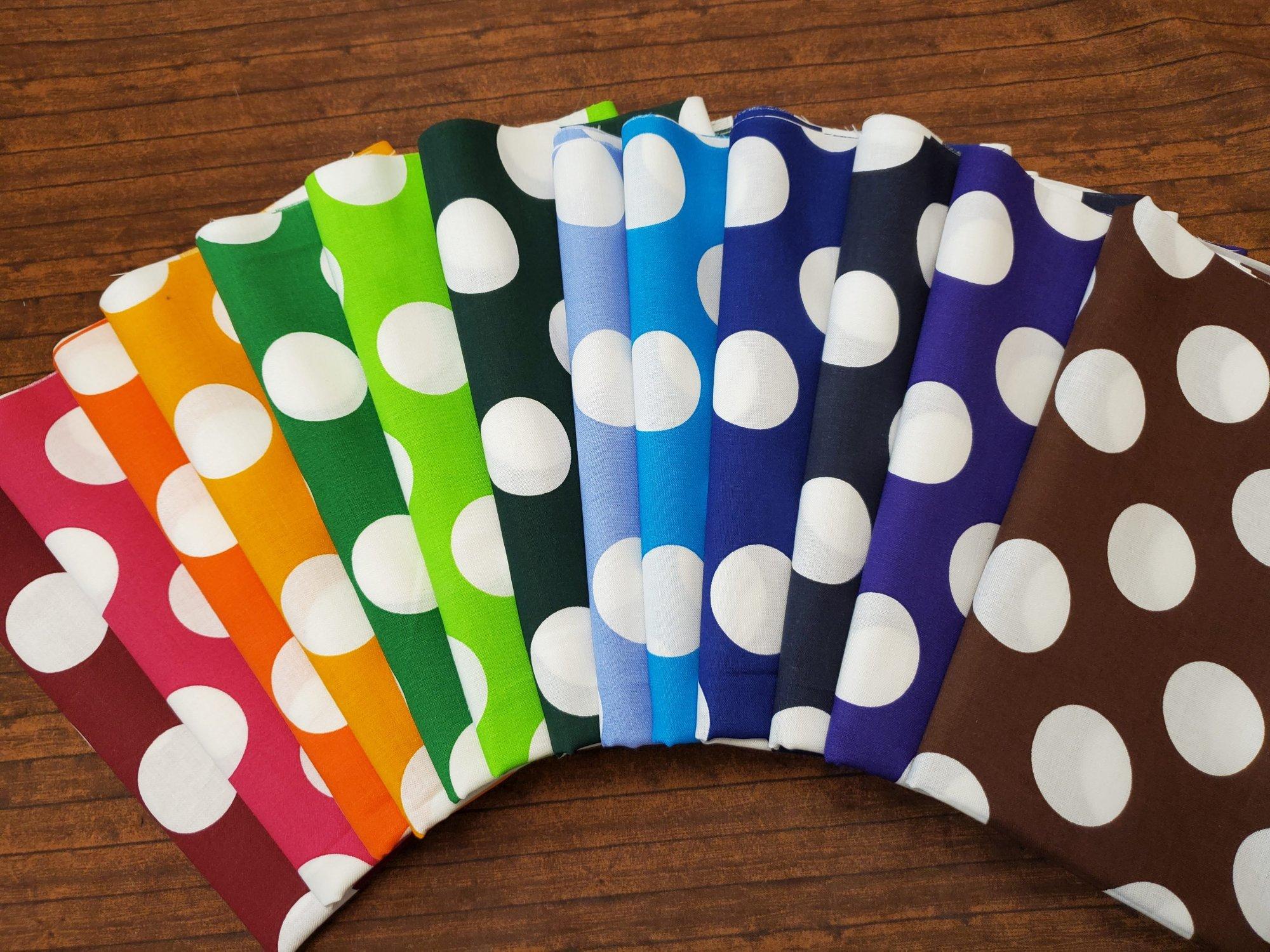 Big Dots - Rachael's Picks - 13 Piece Half Yard Bundle Pack