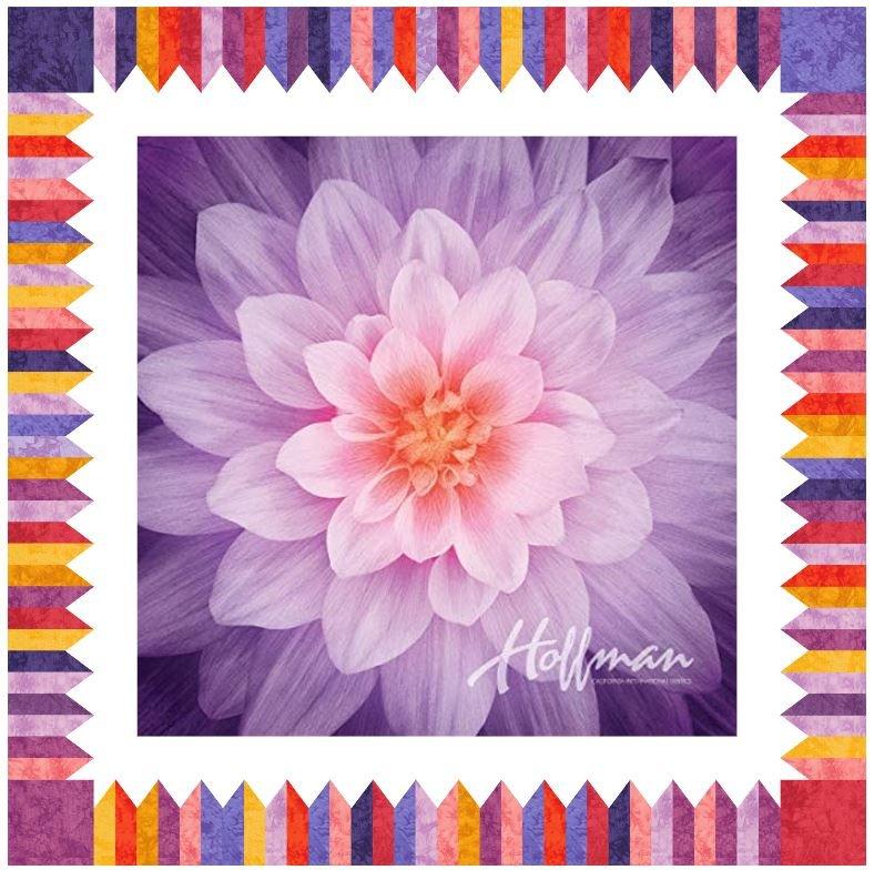 Digital Pattern: Dream Big Delight -Orchid Digital Pattern by Becky Tillman Petersen