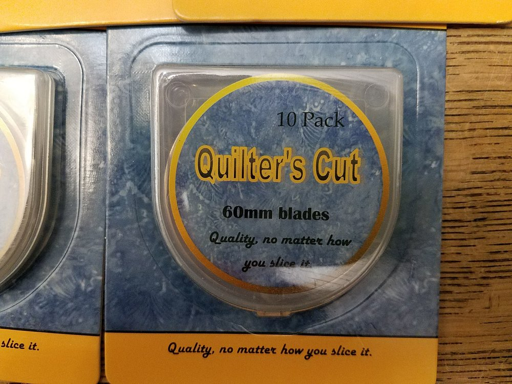 60mm Quilter's Cut Rotary Blades - 10 pack