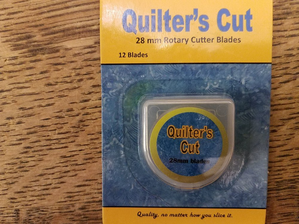 28mm Quilter's Cut Rotary Blades - 12 pack