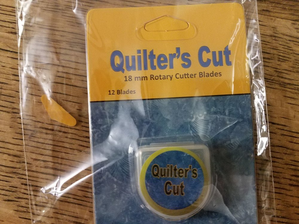 18mm Quilter's Cut Rotary Blades - 12 pack