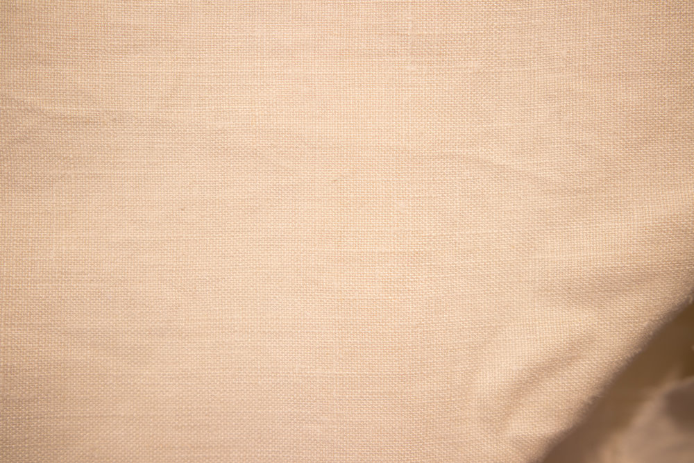 2 Yds (72) Off White Slightly Heavier Weight Linen/Cotton Mix