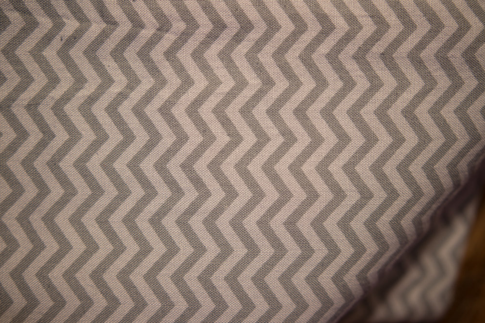 1 Yd, 33 (69) Gray with Gray Chevrons