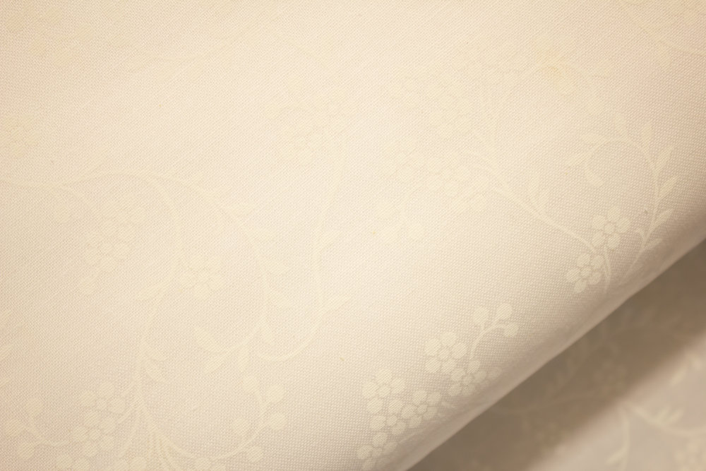 White on White Graceful Rhapsody
