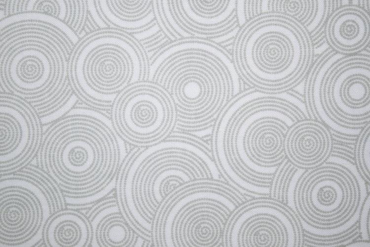 Gray on White Fabrics