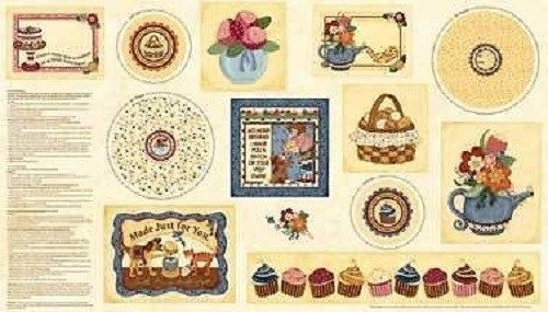 Kelly's Sweet Treats by Keily Mueller, The Wooden Bear for Red Rooster Fabrics