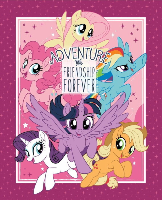 My Little Pony Panel by Springs Creative