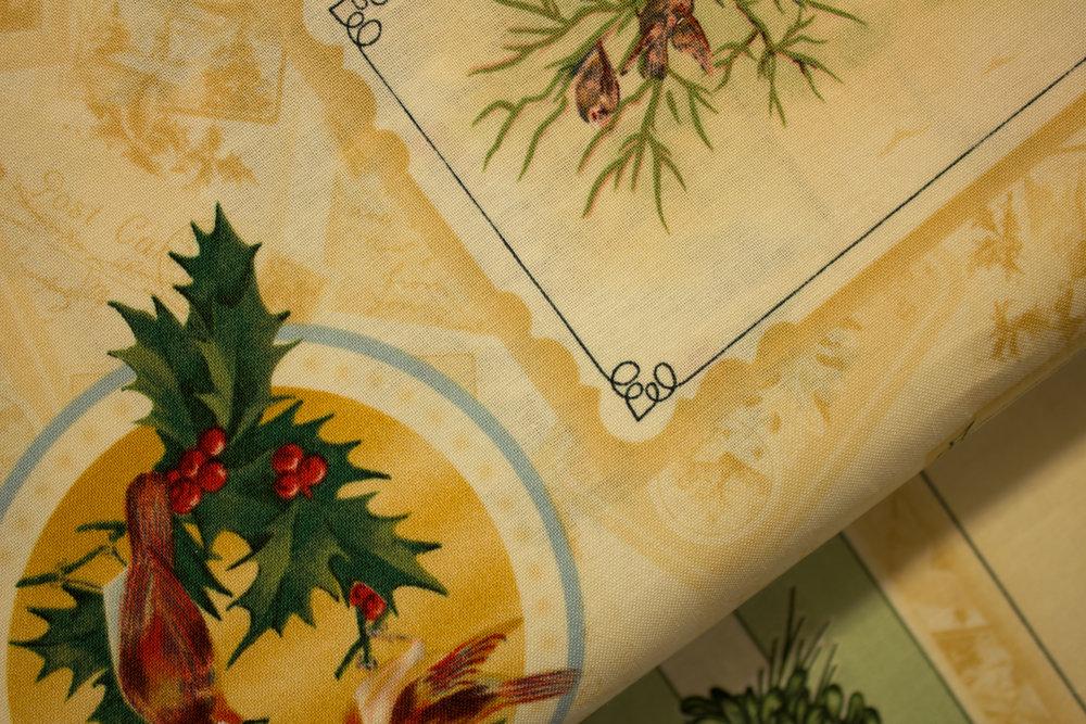 Holiday Greetings - Postcards on Cream - by Kaye England