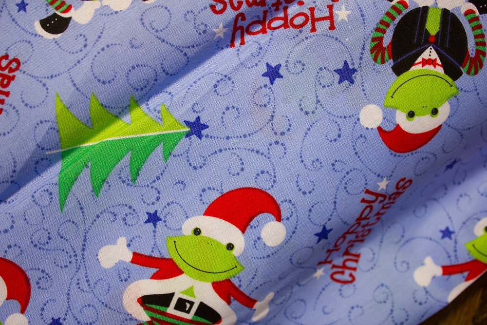Hoppy Christmas - Frogs in Christmas Attire