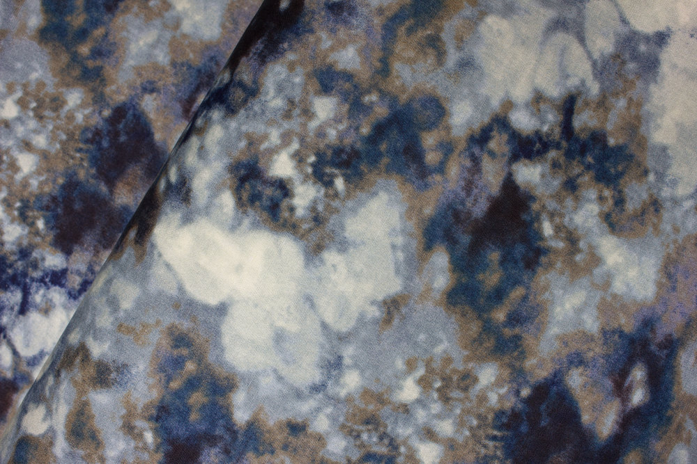 Navy, Blue/Gray, Taupe Mottled: Smoke Natural Instincts for Hoffman