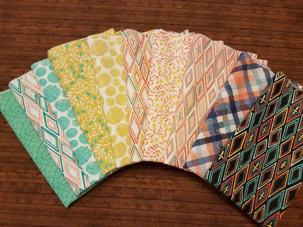 Midnight Garden by One Canoe Two for Moda Fabrics - 10 Piece Half Yard Bundle Pack