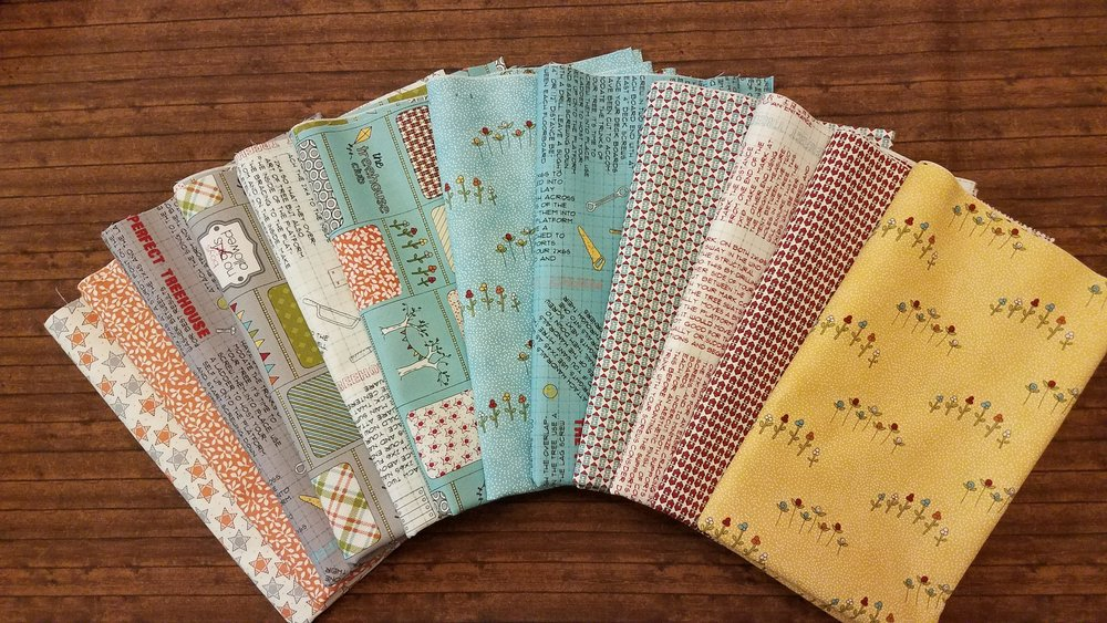 Treehouse Club by Sweetwater for Moda - 12 Piece Half Yard Bundle Pack